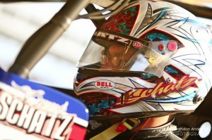 Donny Schatz continued his success at Knoxville. (BA Photos)