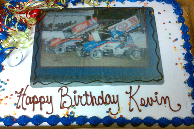 Birthday Cake Images With Name Kevin : Donny Schatz Motorsports HAPPY BIRTHDAY KEVIN HANSON