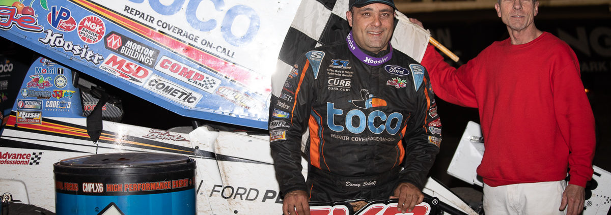 Donny Schatz, world of outlaws, lakeside speedway