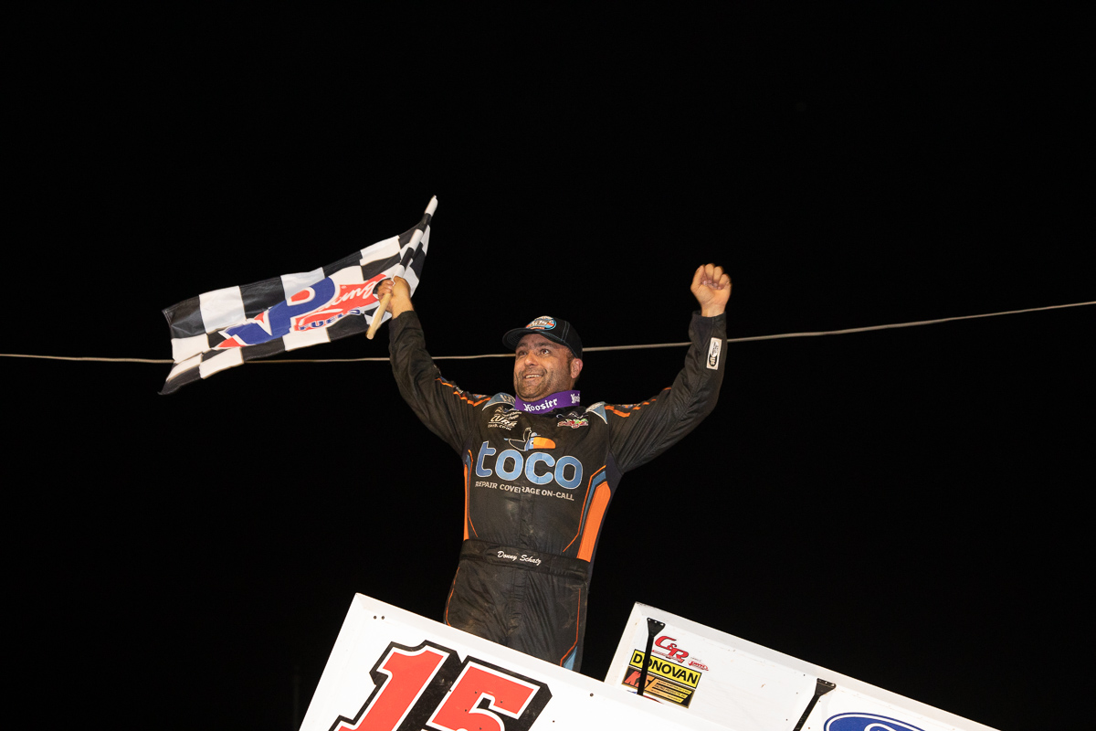 Schatz Completes Port Royal Three-Peat